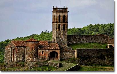 Almonaster La Real al ser proclamado uno de Los Pueblos más bonitos de España