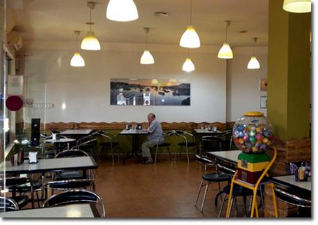 Cafetería Heladeria La Ría en Isla Cristina Huelva 2