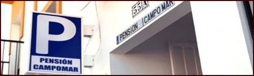logo pensión Campomar Cartaya