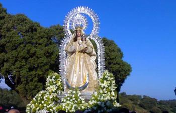 Romeria en Honor de Nuestra Señora de Piedras Albas Castillejos 2017