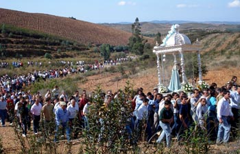 Romería en Honor a la Virgen de la Peña.  Puebla de Guzmán 2015