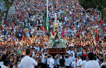 Fiestas del Carmen Punta Umbria 2016