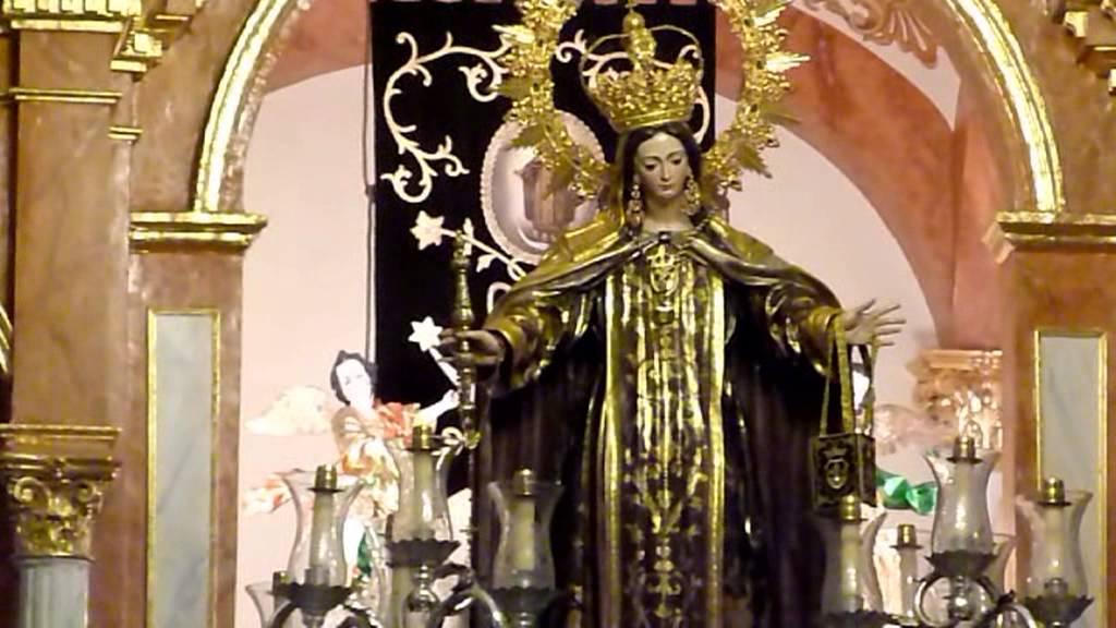 Virgen del Carmen Galaroza 2015