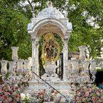 Hoy sábado, subida' de la Patrona de Huelva hasta su Santuario del Conquero.
