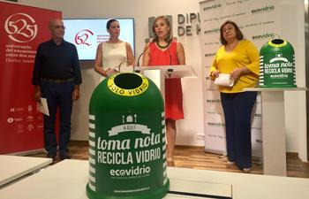Huelva recicló más de 4.300 Toneladas de residuos de vidrio
