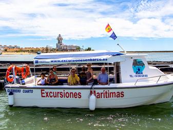 Excursiones Marítimas Isleñas – Rutas y Paseos en Barco – P. Deportiva en Isla Cristina ( Huelva )