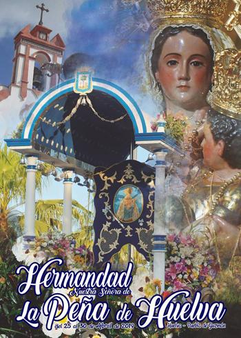Romería 2019 Hermandad de la Peña de Huelva, Cartel y Revista