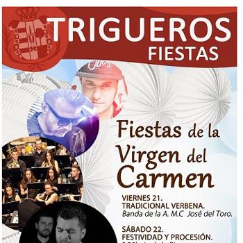 Fiestas Virgen del Carmen Trigueros