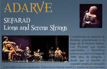 Concierto SEFARAT de Liona and Serena Strings Cartaya