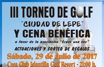 "III Torneo Benéfico de Golf ""Ciudad de Lepe"""