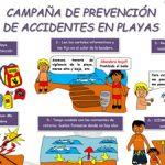 Campaña de Prevención de Accidentes en Piscinas y en la Playa.