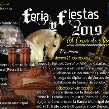 Feria en El Cerro de Andévalo 2019