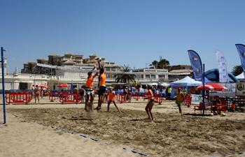 Voley playa Mazagón y segunda prueba del 3×3 Punta Umbría