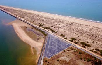 Mejoras en la Playa del Espigón Huelva