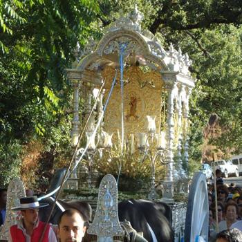 Fiesta y Romeria de la Reina de Los Ángeles Alájar
