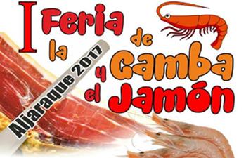 I Feria de la gamba y jamón Aljaraque 2017