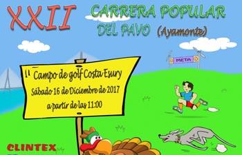 XII Carrera Popular del Pavo Ayamonte