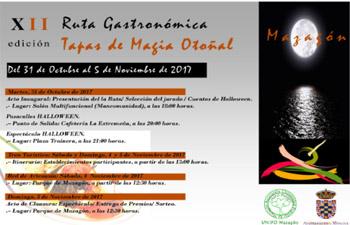 Ruta gastronómica Tapas de Magia Otoñal Mazagón