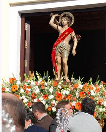 San Bartolomé de la Torre fiestas en honor a San Sebastián Mártir