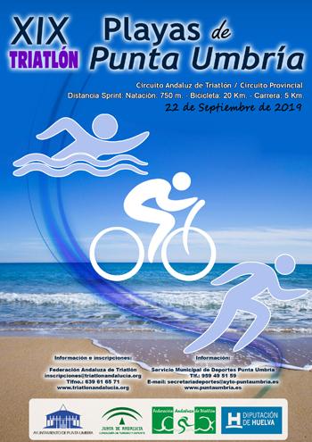 """XIX Triatlón """"Playas de Punta Umbría"""""""
