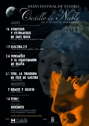 XXXVI Festival Teatro y Danza Castillo de Niebla  2021