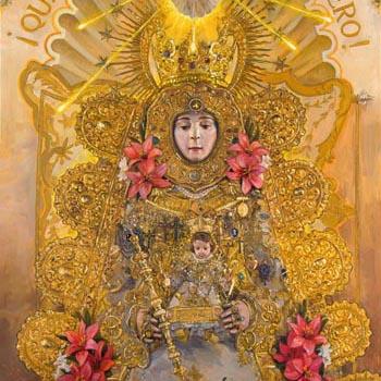 Virgen del Rocío – Dispositivo especial de seguridad durante la procesión extraordinaria.
