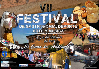 VII festival de Gastronomía, Deporte, Arte y Música Cerro del Andévalo