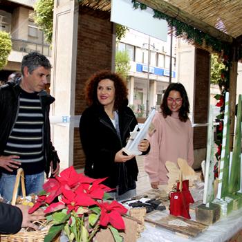 Navidad solidaria, Mercadillo de ONGs y Asociaciones en la Gran Via de Huelva
