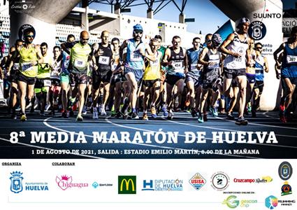 Vuelve en agosto la VIII Media Maratón de Huelva