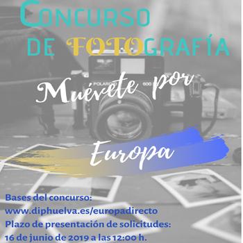 Concurso fotográfico 'Muévete por Europa'.