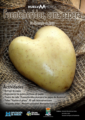 Fuenteheridos – tradicional 'borrajo' se asarán 600 kilos de patata.
