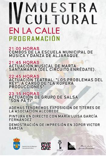 IV Muestra Cultural en la Calle – Aljaraque