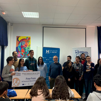 Entrega de premios del Concurso de Vídeos de la segunda fase del proyecto europeo Reconoce y Cambia