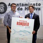 Primer ronqueo del atún en el Mercado del Carmen-Huelva
