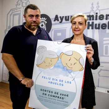 Campaña comercial 'Feliz Día de los Abuelos' -Huelva