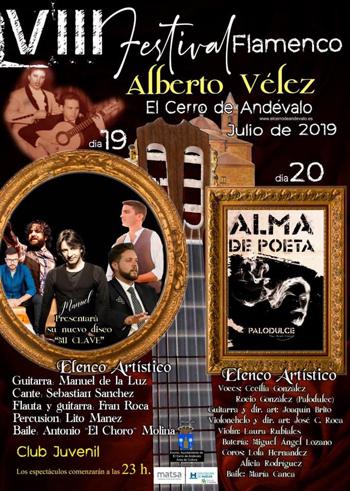 VIII Edición del Festival Flamenco Alberto Vélez – El Cerro del Andévalo
