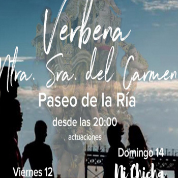 Conciertos – Velada en honor a la Virgen del Carmen Huelva