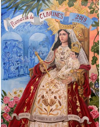 Romería en honor a Nuestra Señora la Virgen de los Clarines Beas.