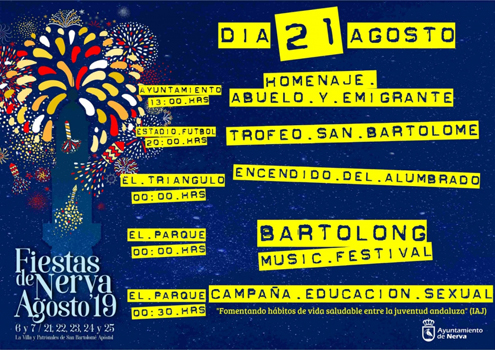 Fiestas de San Bartolomé 2019 – Nerva