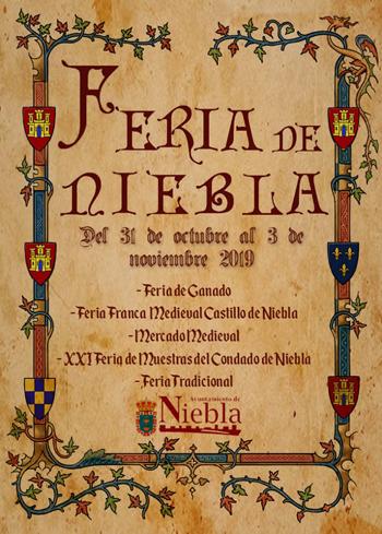 Feria Franca Medieval de Niebla 2019
