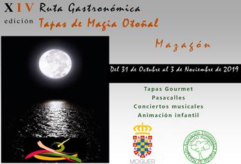 """XIV Ruta Gastronómica """"Tapas de Magia Otoñal"""""""