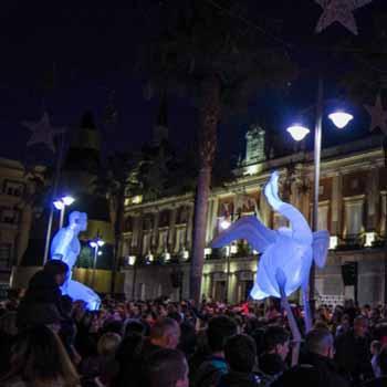 Huelva inaugura mañana su nacimiento, un belén ambientado …