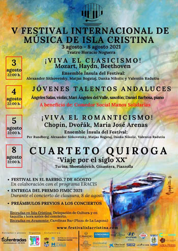 V Festival Inter. de Música de Cámara de Isla Cristina