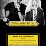 Manuel Vilas y Christina Rosenvinge inauguran este viernes en el Foro