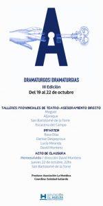 II Encuentro 'Dramaturgos entre Dramaturgias'