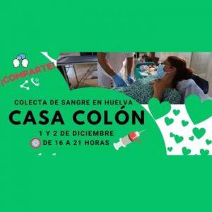 La Casa Colón acoge una Colecta de Sangre