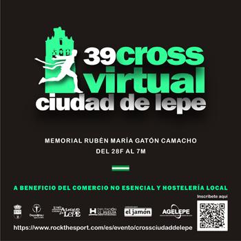 ATLETISMO | XXXIX CROSS VIRTUAL CIUDAD DE LEPE