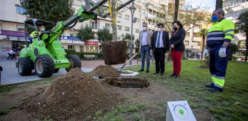 El Ayuntamiento de Huelva se suma a #UnÁrbolPorEuropa