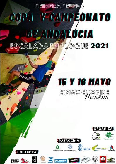 COPA Y CTO. ANDALUCÍA ESCALADA EN BLOQUE – Huelva