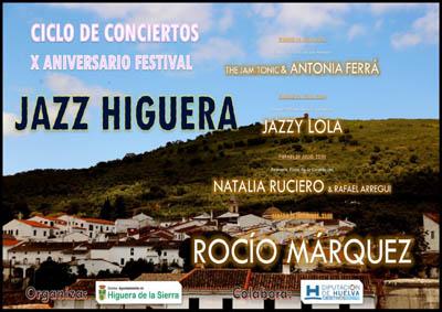 X edición del Festival de Jazz de Higuera de la Sierra